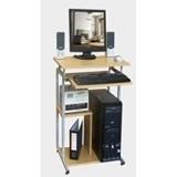 LUNAR Meja Komputer [HUGA 904] - Beech - Meja Komputer